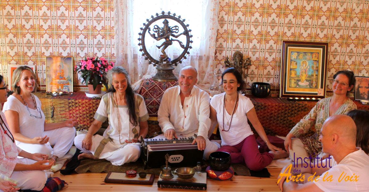 Formation au Yoga du Son à Paris avec Patrick Torre