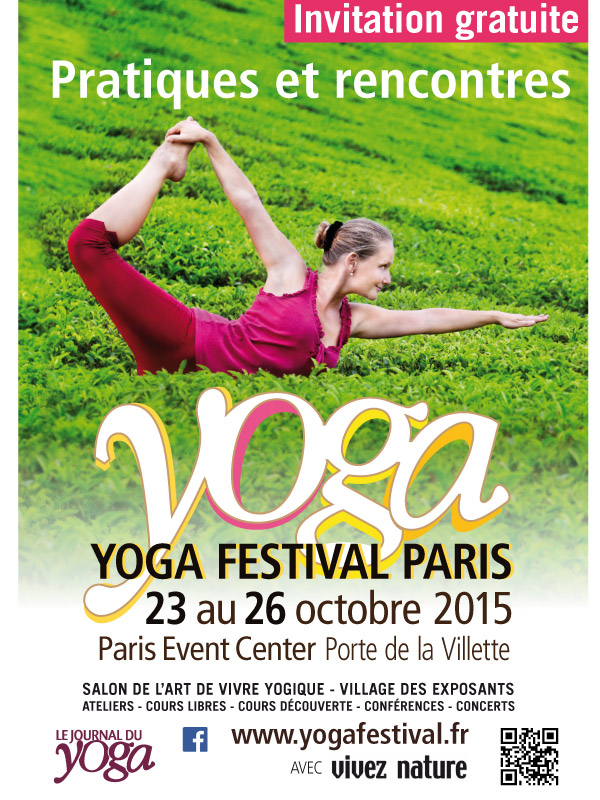 D couvrez le yoga du son au yoga festival paris 2015 - Entree gratuite salon agriculture 2015 ...
