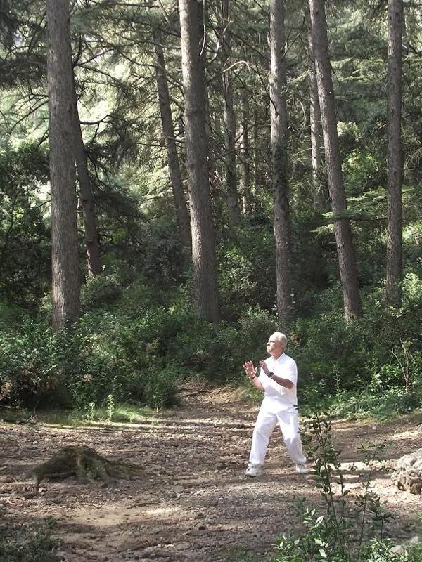 Eric Bompuis, Professeur de Yoga du Son, diplômé de l'Institut des Arts de la Voix